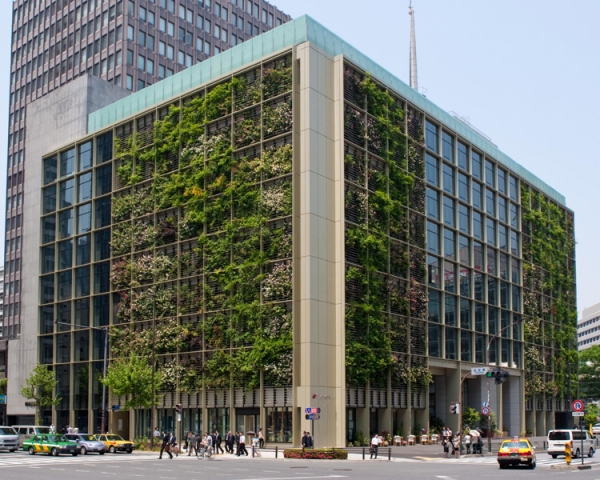 This Tokyo building is both an office building and a farm.